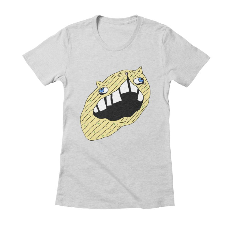 Cat-sup Chip Women's Fitted T-Shirt by CATCARYEG