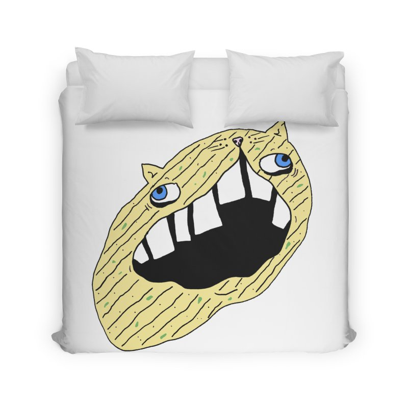 Cat-sup Chip Home Duvet by CATCARYEG