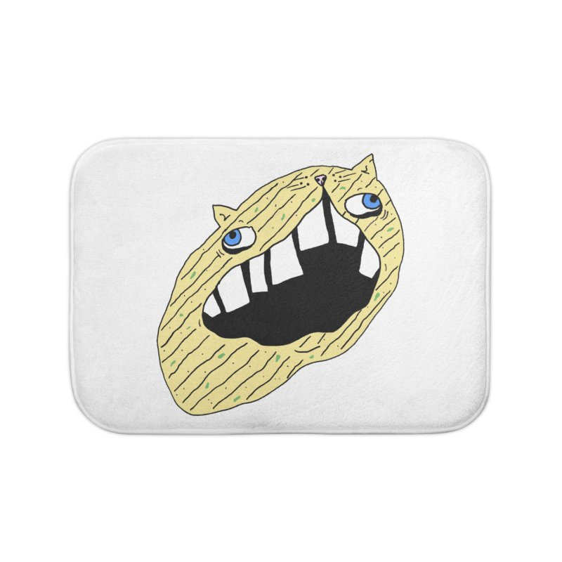 Cat-sup Chip Home Bath Mat by CATCARYEG