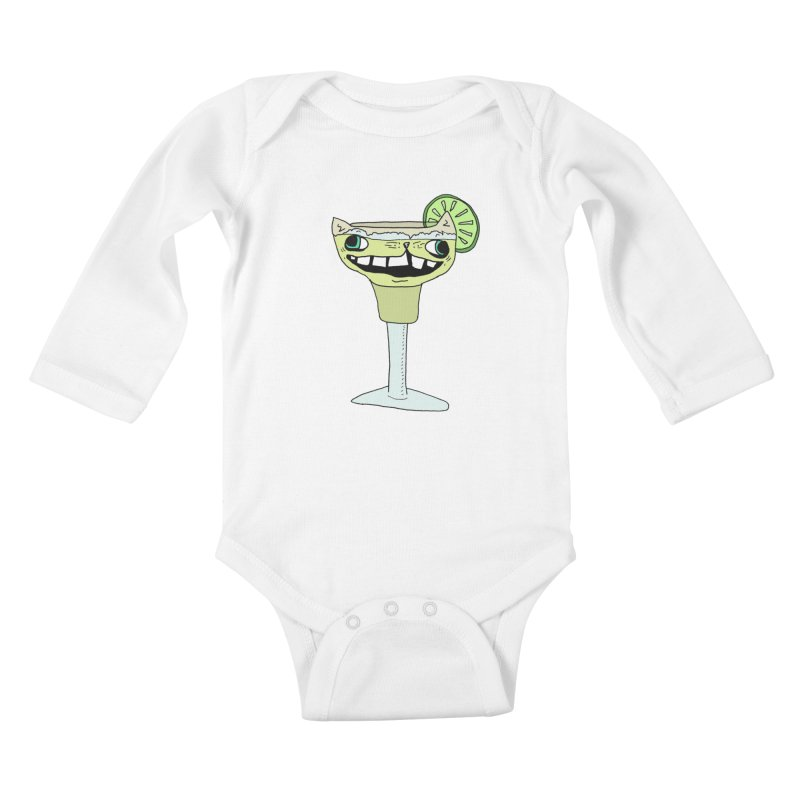 Margakitta Kids Baby Longsleeve Bodysuit by CATCARYEG