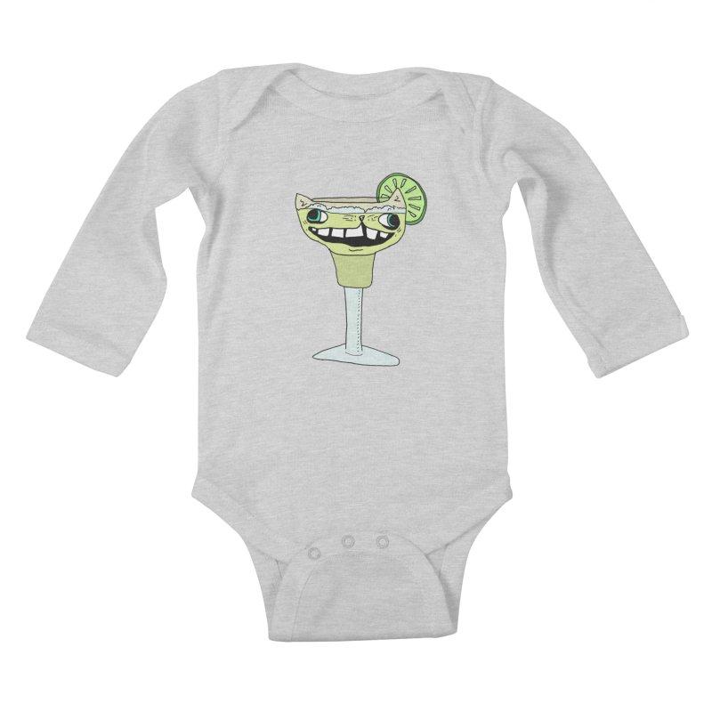 Margakitta Kids Baby Longsleeve Bodysuit by CATCARYEG