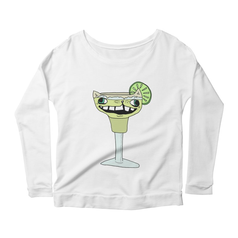 Margakitta Women's Scoop Neck Longsleeve T-Shirt by CATCARYEG
