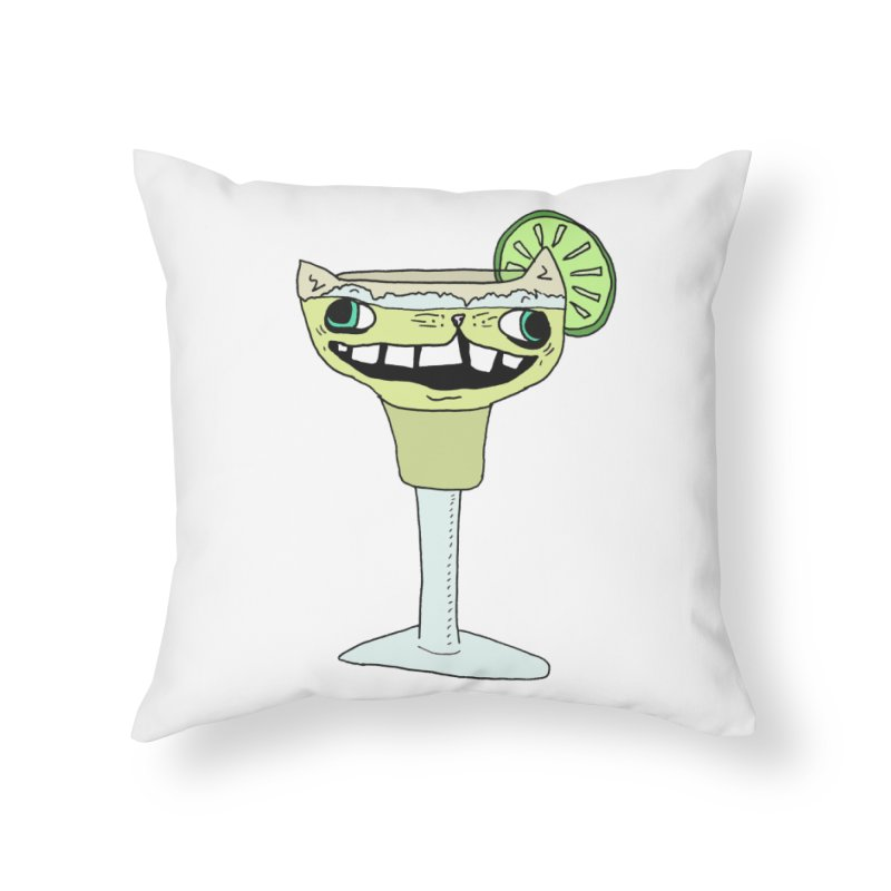 Margakitta Home Throw Pillow by CATCARYEG
