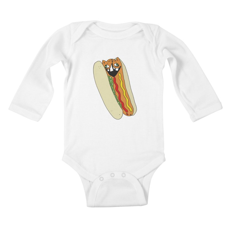 Cat-Dog (not the show) Kids Baby Longsleeve Bodysuit by CATCARYEG