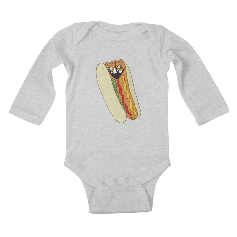 Cat-Dog (not the show) Kids Baby Longsleeve Bodysuit by CATCARYEG
