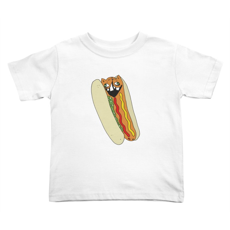 Cat-Dog (not the show) Kids Toddler T-Shirt by CATCARYEG