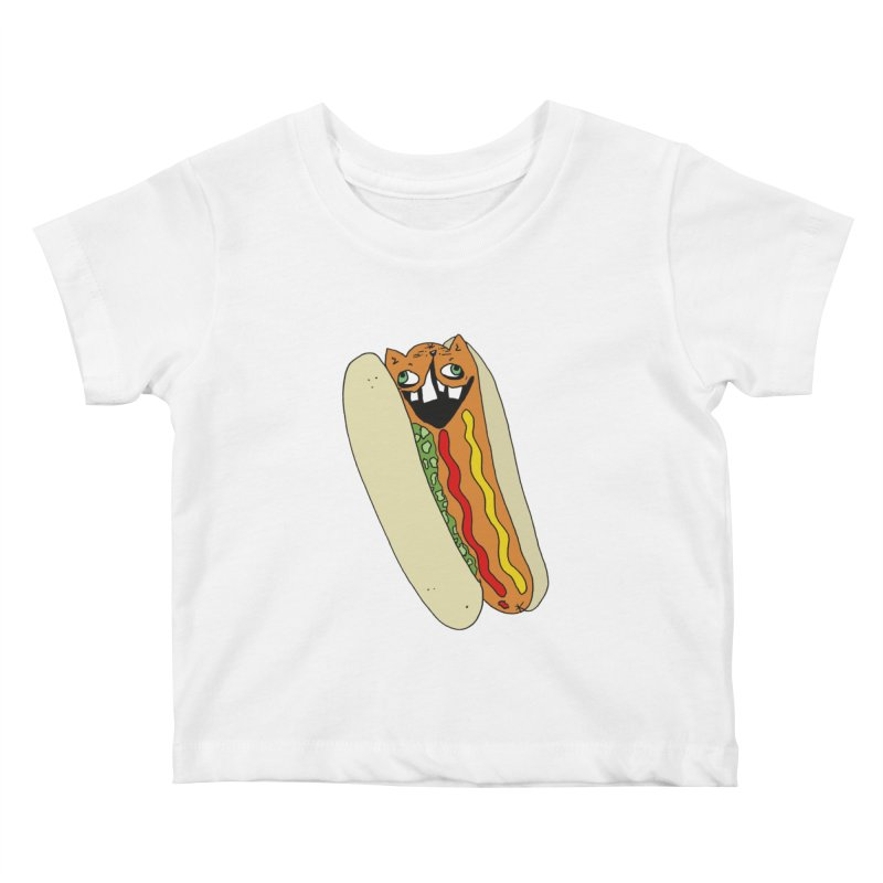Cat-Dog (not the show) Kids Baby T-Shirt by CATCARYEG