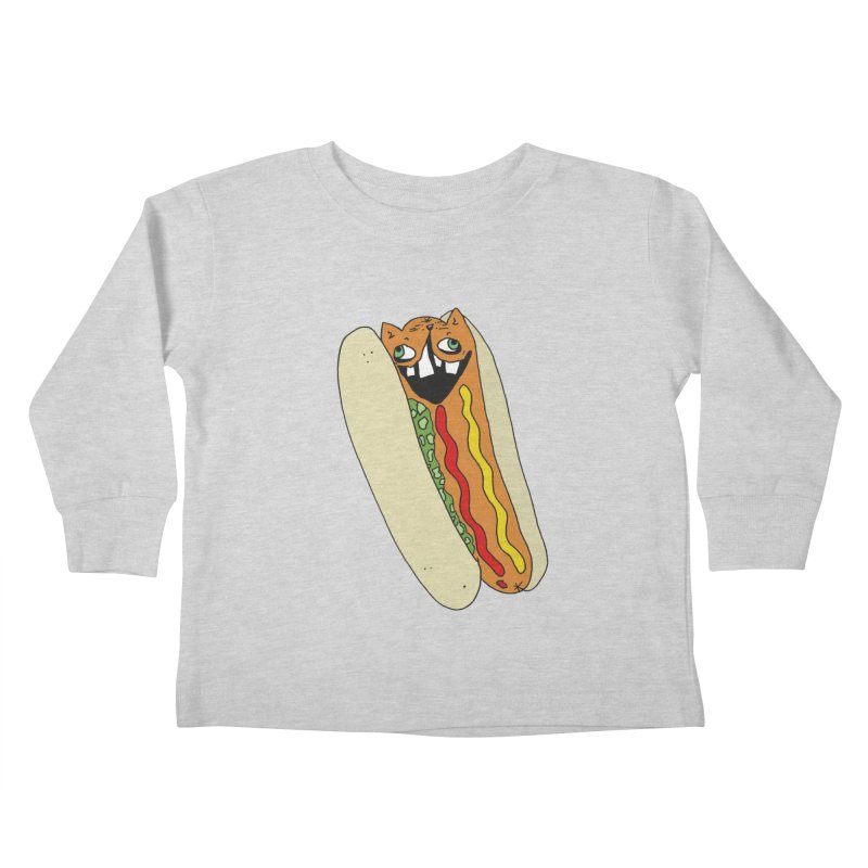 Cat-Dog (not the show) Kids Toddler Longsleeve T-Shirt by CATCARYEG