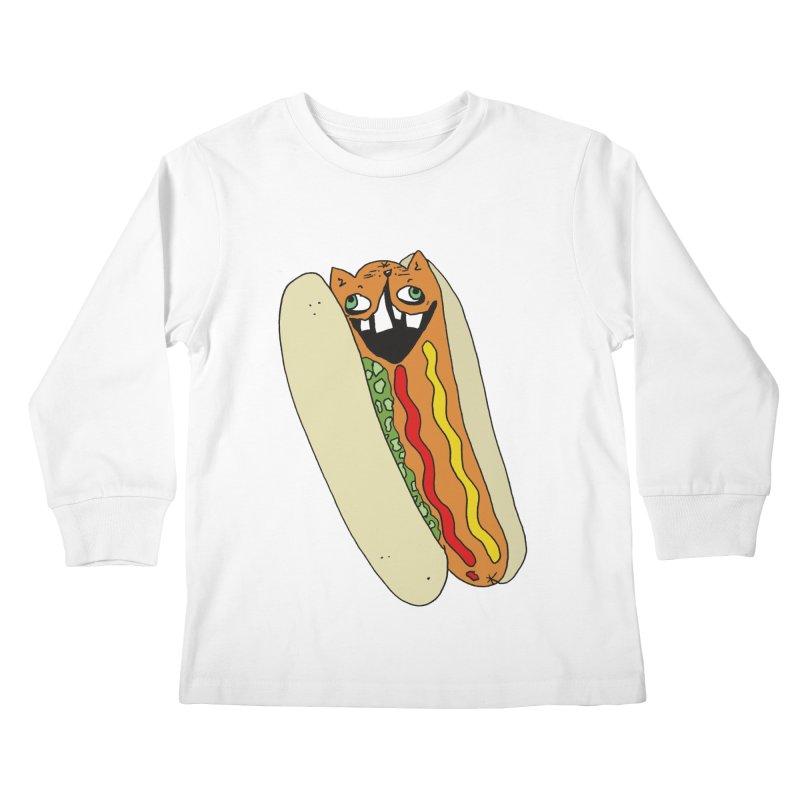 Cat-Dog (not the show) Kids Longsleeve T-Shirt by CATCARYEG