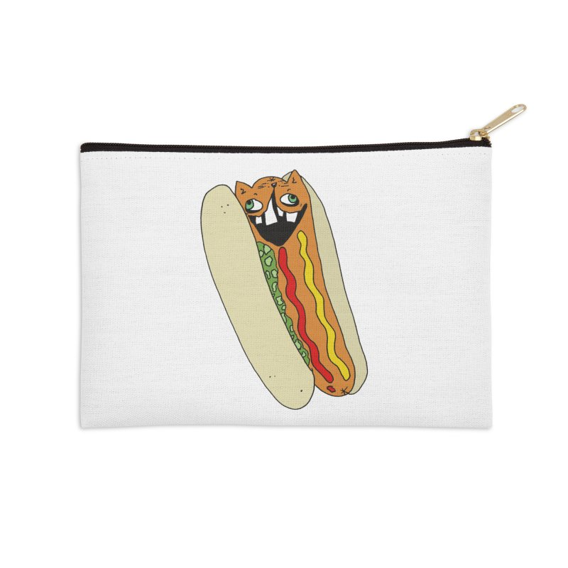 Cat-Dog (not the show) Accessories Zip Pouch by CATCARYEG