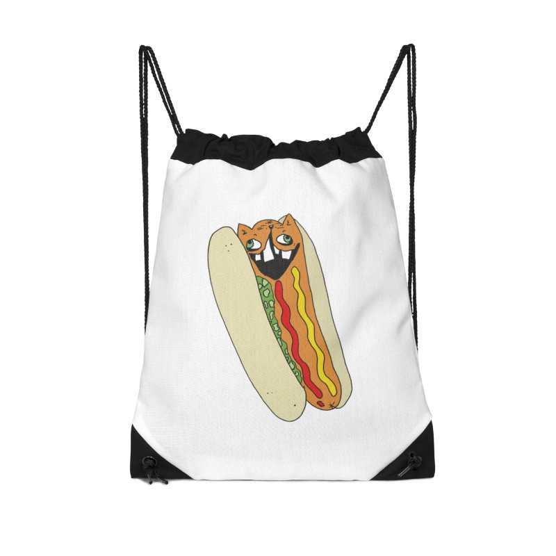 Cat-Dog (not the show) Accessories Drawstring Bag Bag by CATCARYEG