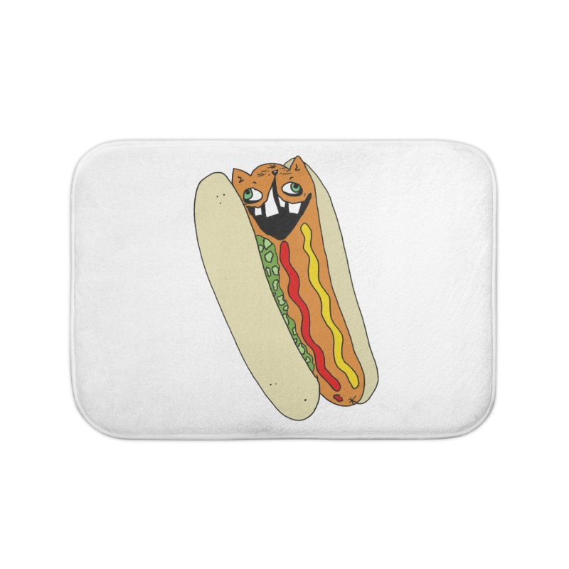 Cat-Dog (not the show) Home Bath Mat by CATCARYEG