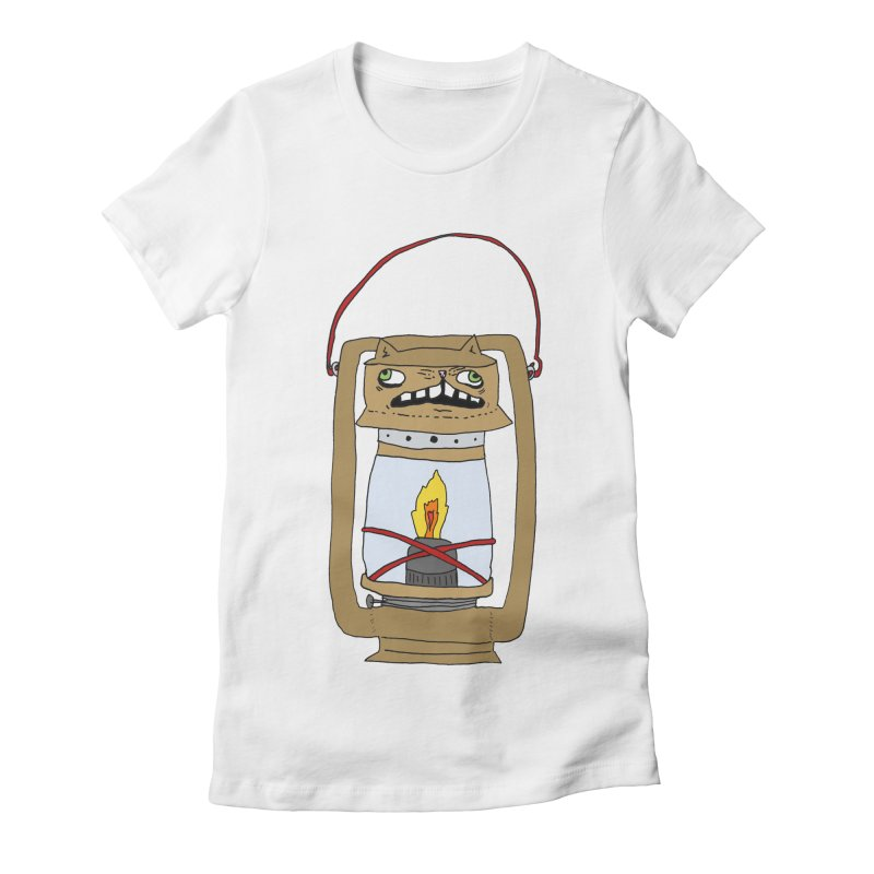 Catern Women's Fitted T-Shirt by CATCARYEG