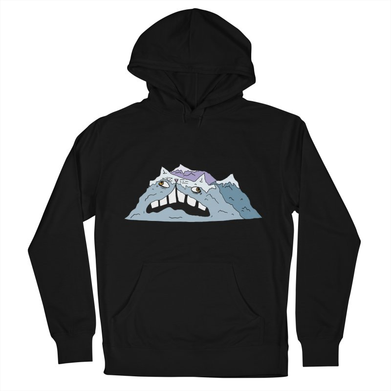 Meowtains Men's French Terry Pullover Hoody by CATCARYEG