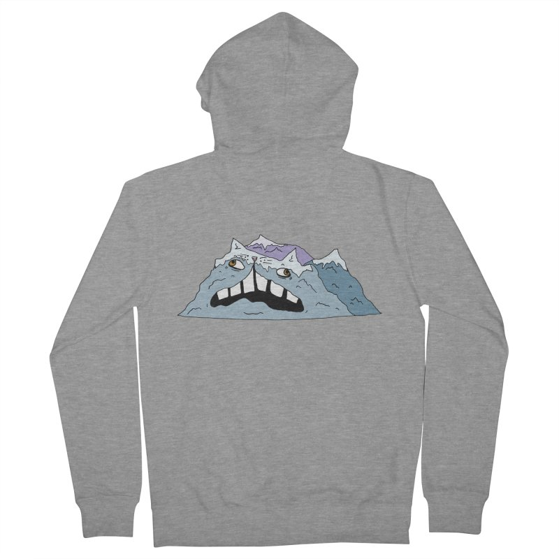 Meowtains Men's French Terry Zip-Up Hoody by CATCARYEG