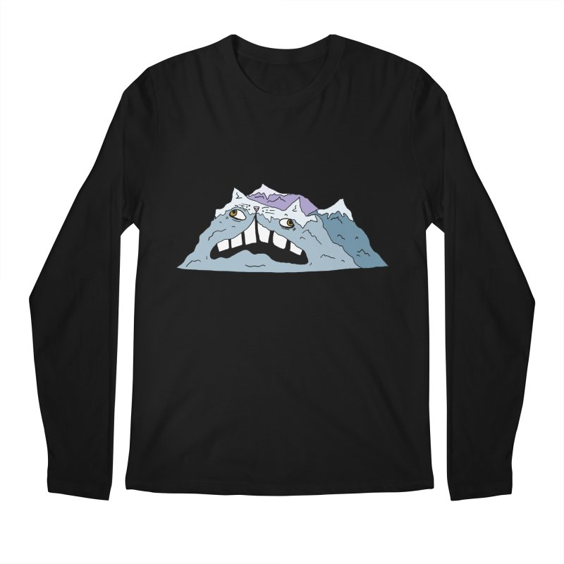 Meowtains Men's Regular Longsleeve T-Shirt by CATCARYEG