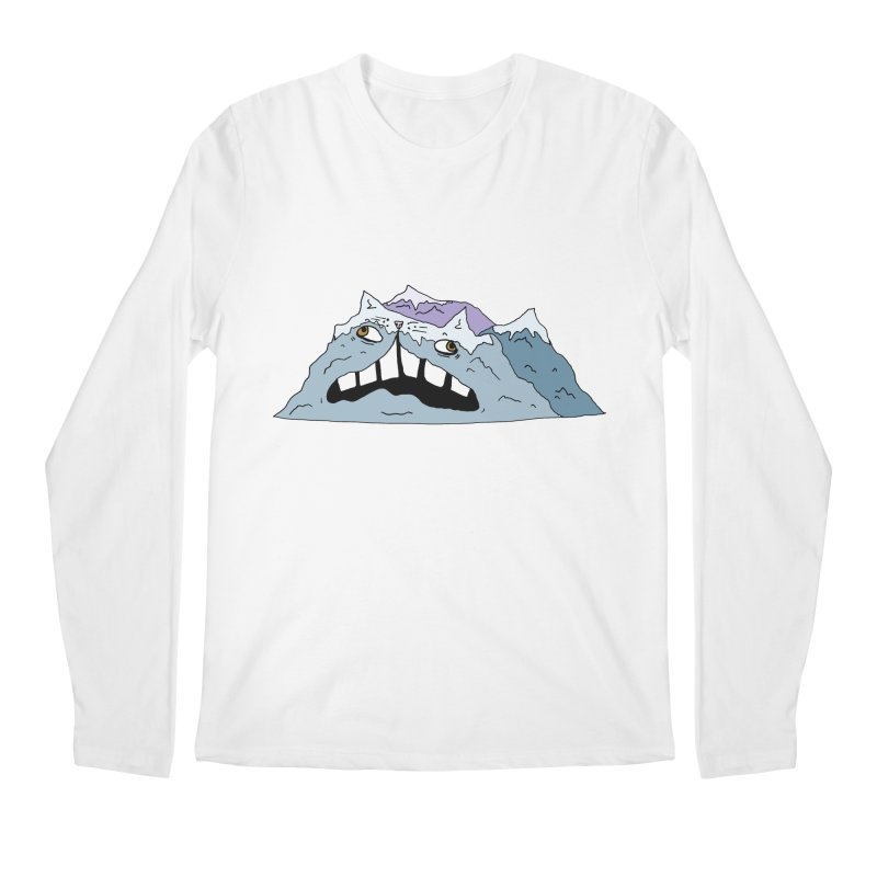 Meowtains Men's Longsleeve T-Shirt by CATCARYEG