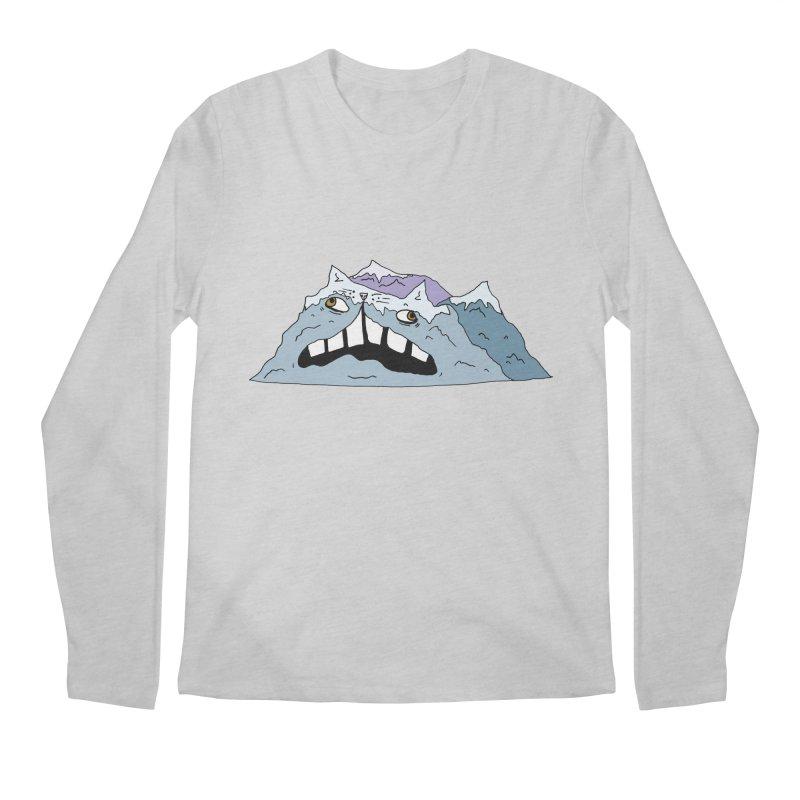 Meowtains Men's Regular Longsleeve T-Shirt by CATCARYEG