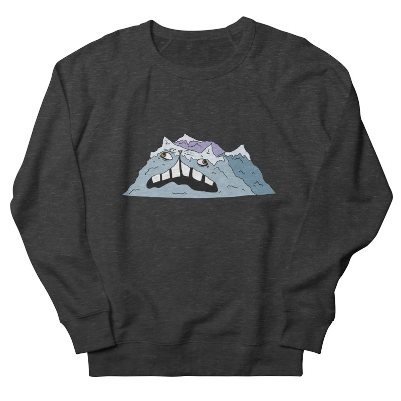 Meowtains Women's French Terry Sweatshirt by CATCARYEG
