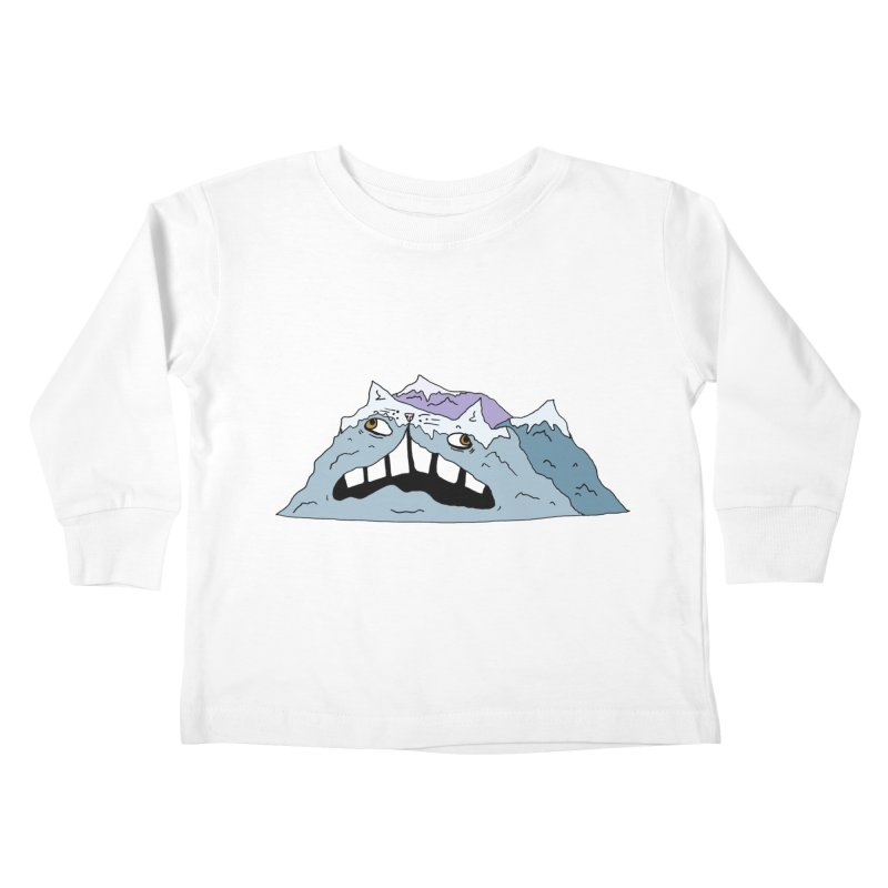 Meowtains Kids Toddler Longsleeve T-Shirt by CATCARYEG