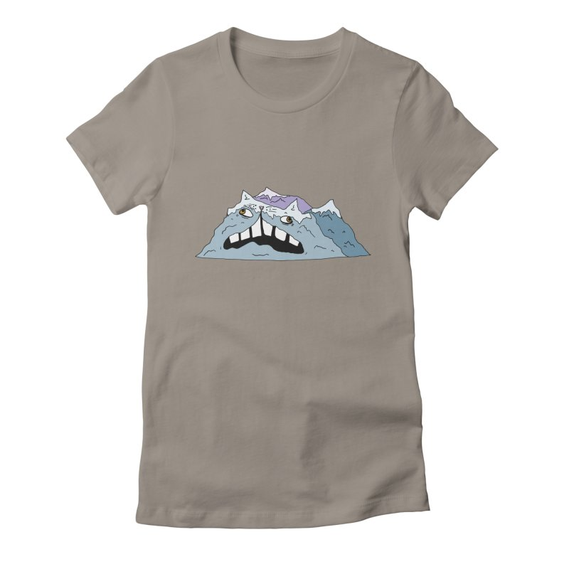 Meowtains Women's Fitted T-Shirt by CATCARYEG