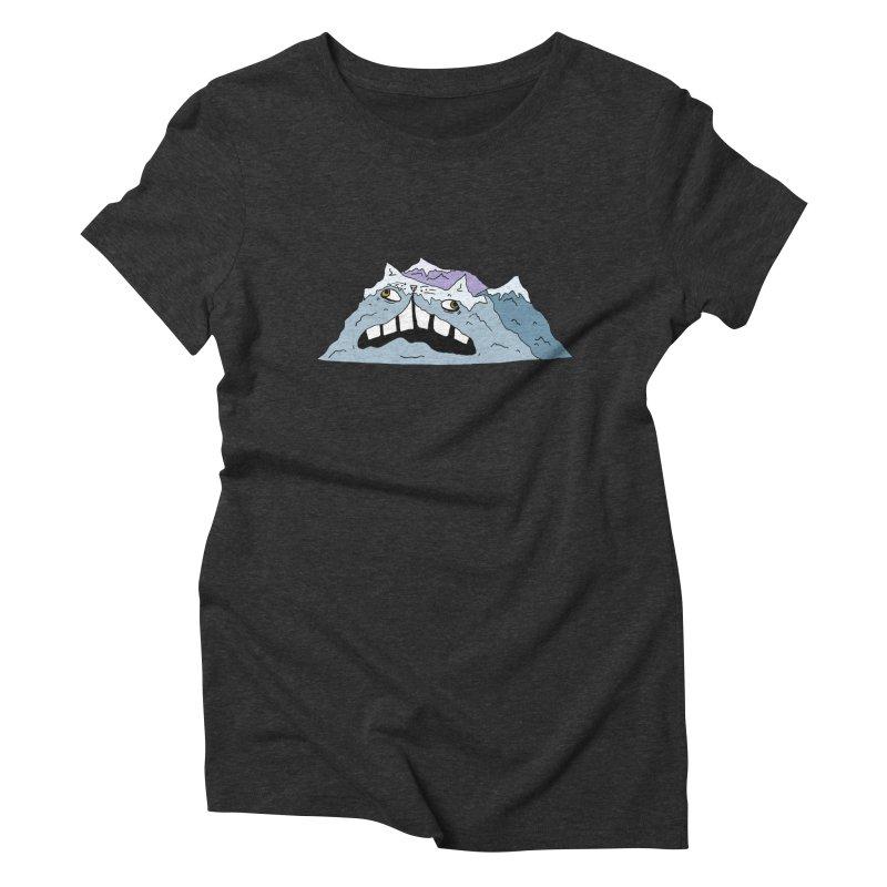 Meowtains Women's Triblend T-Shirt by CATCARYEG