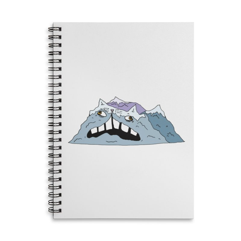 Meowtains Accessories Lined Spiral Notebook by CATCARYEG