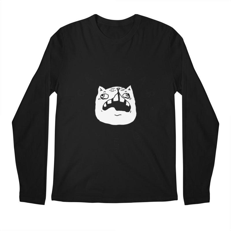 CAT CAR YEG Men's Regular Longsleeve T-Shirt by CATCARYEG