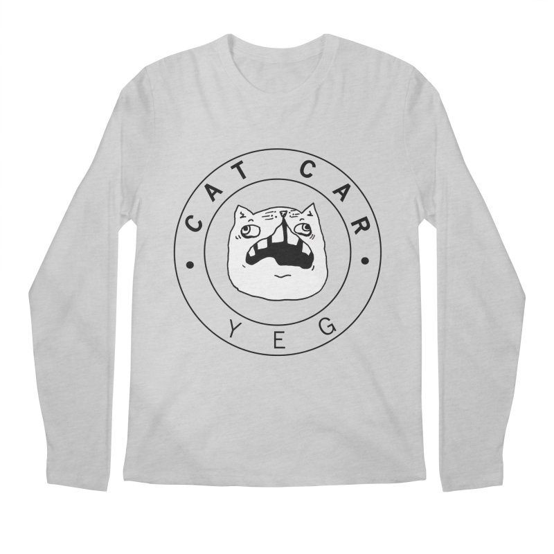 CAT CAR YEG Men's Longsleeve T-Shirt by CATCARYEG