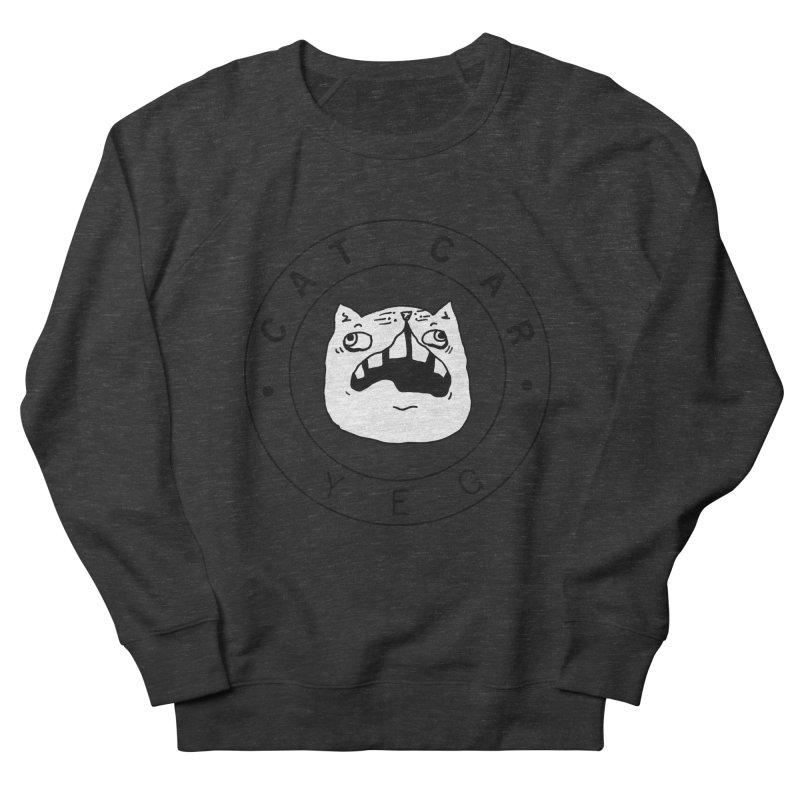 CAT CAR YEG Men's French Terry Sweatshirt by CATCARYEG