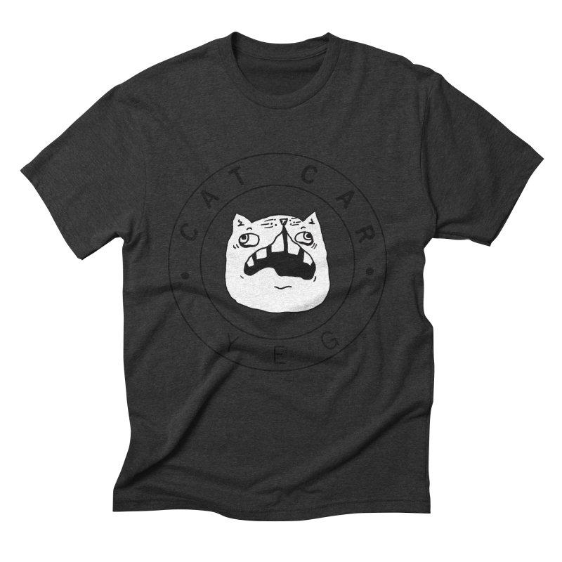 CAT CAR YEG Men's Triblend T-Shirt by CATCARYEG