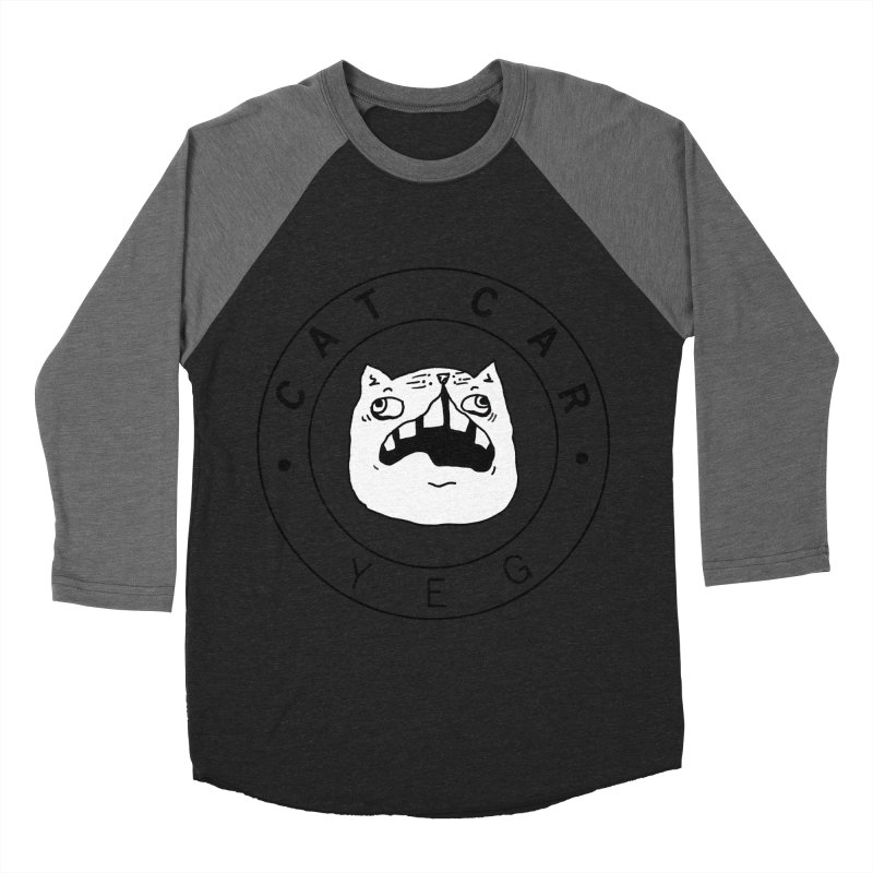 CAT CAR YEG Men's Baseball Triblend Longsleeve T-Shirt by CATCARYEG
