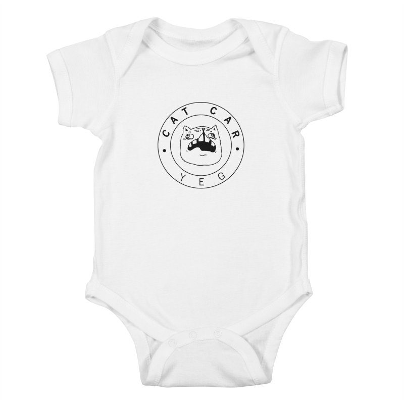 CAT CAR YEG Kids Baby Bodysuit by CATCARYEG