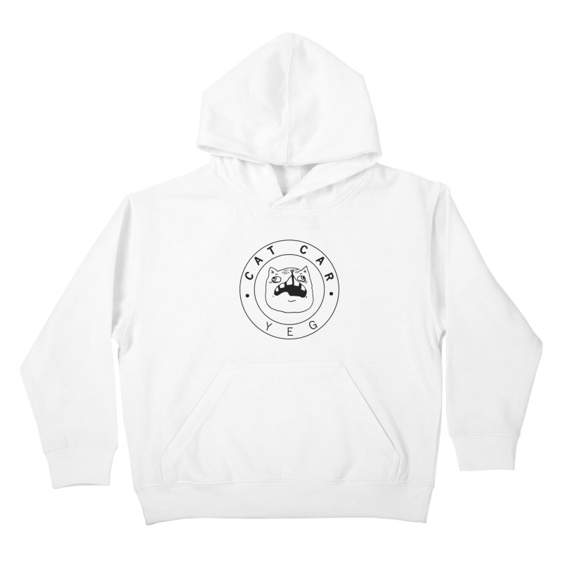 CAT CAR YEG Kids Pullover Hoody by CATCARYEG