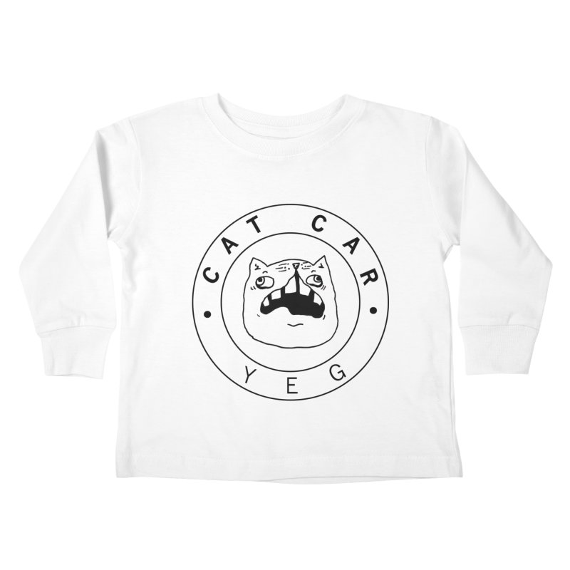 CAT CAR YEG Kids Toddler Longsleeve T-Shirt by CATCARYEG