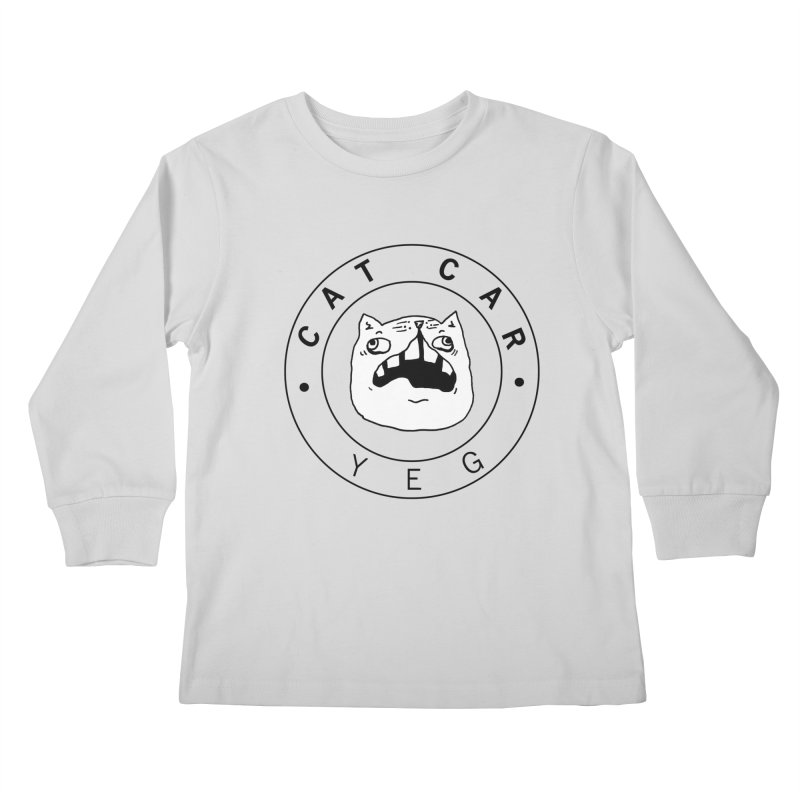 CAT CAR YEG Kids Longsleeve T-Shirt by CATCARYEG