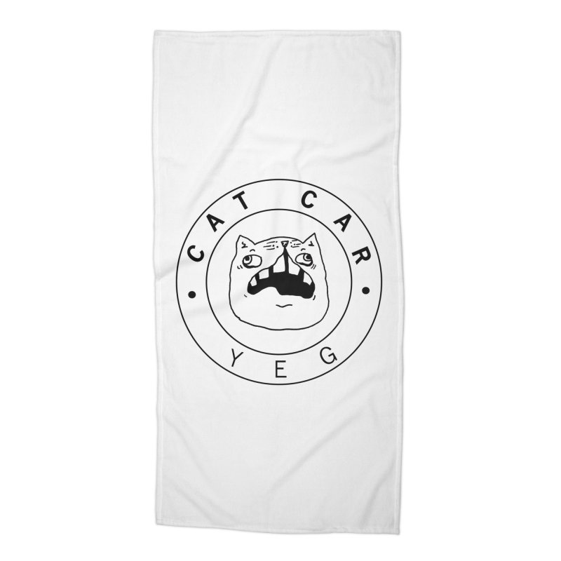 CAT CAR YEG Accessories Beach Towel by CATCARYEG