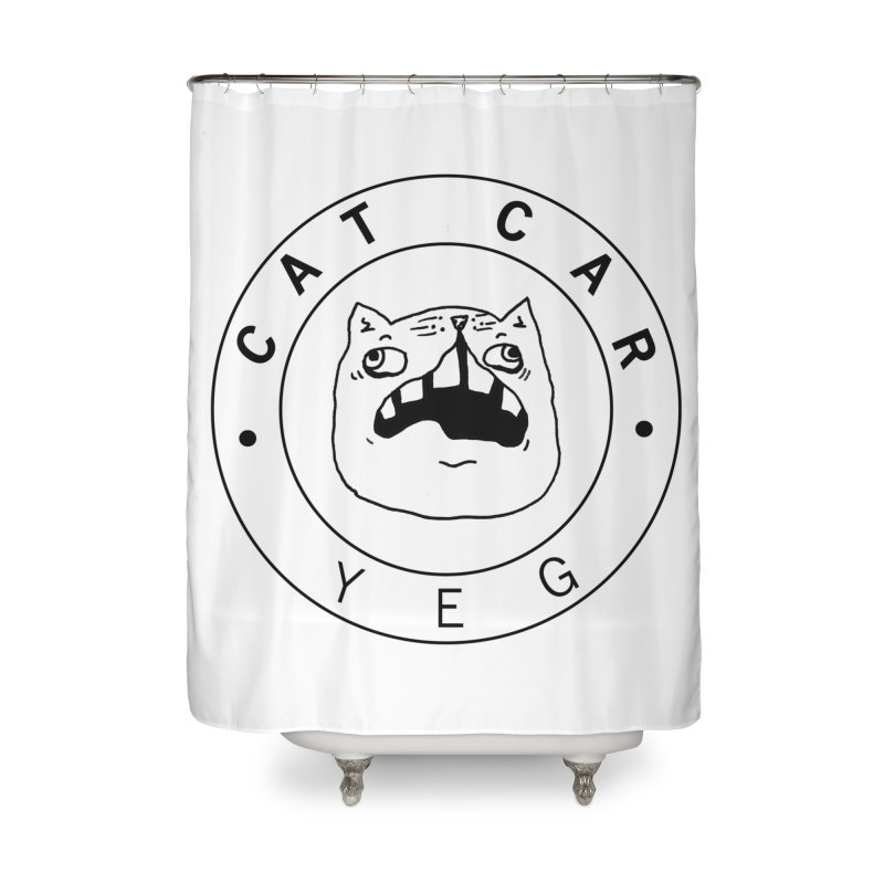 CAT CAR YEG Home Shower Curtain by CATCARYEG
