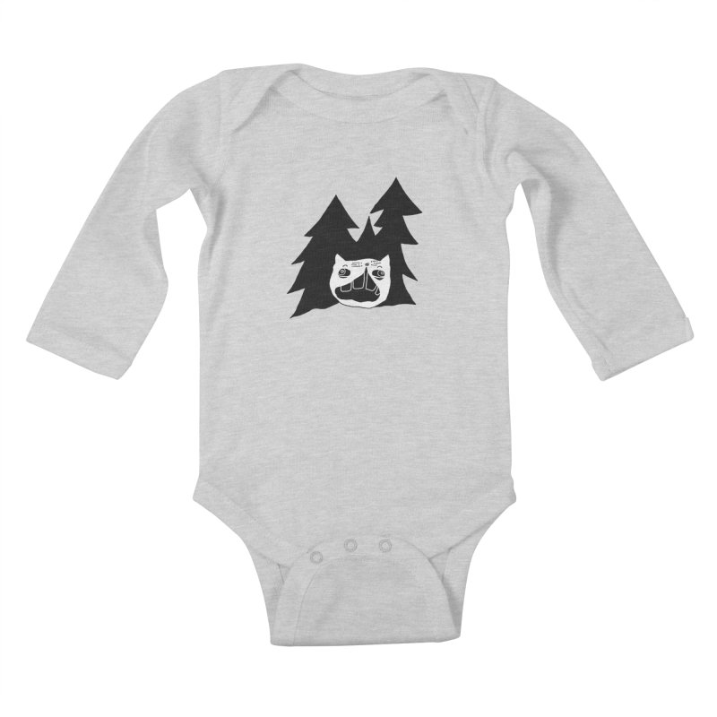Evermeow Kids Baby Longsleeve Bodysuit by CATCARYEG