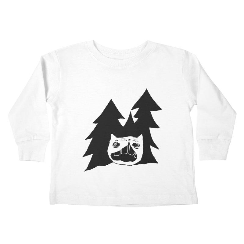 Evermeow Kids Toddler Longsleeve T-Shirt by CATCARYEG