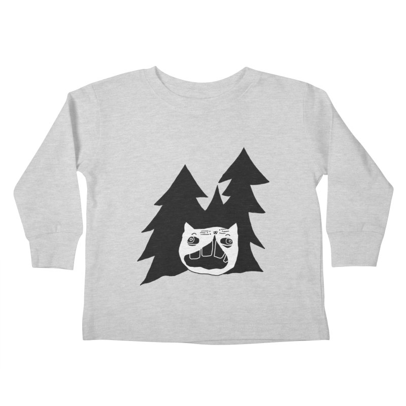 Evermeow Kids Toddler Longsleeve T-Shirt by CATCARYEG
