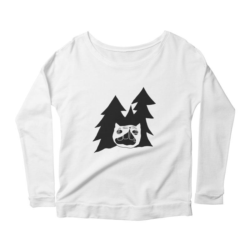 Evermeow Women's Scoop Neck Longsleeve T-Shirt by CATCARYEG