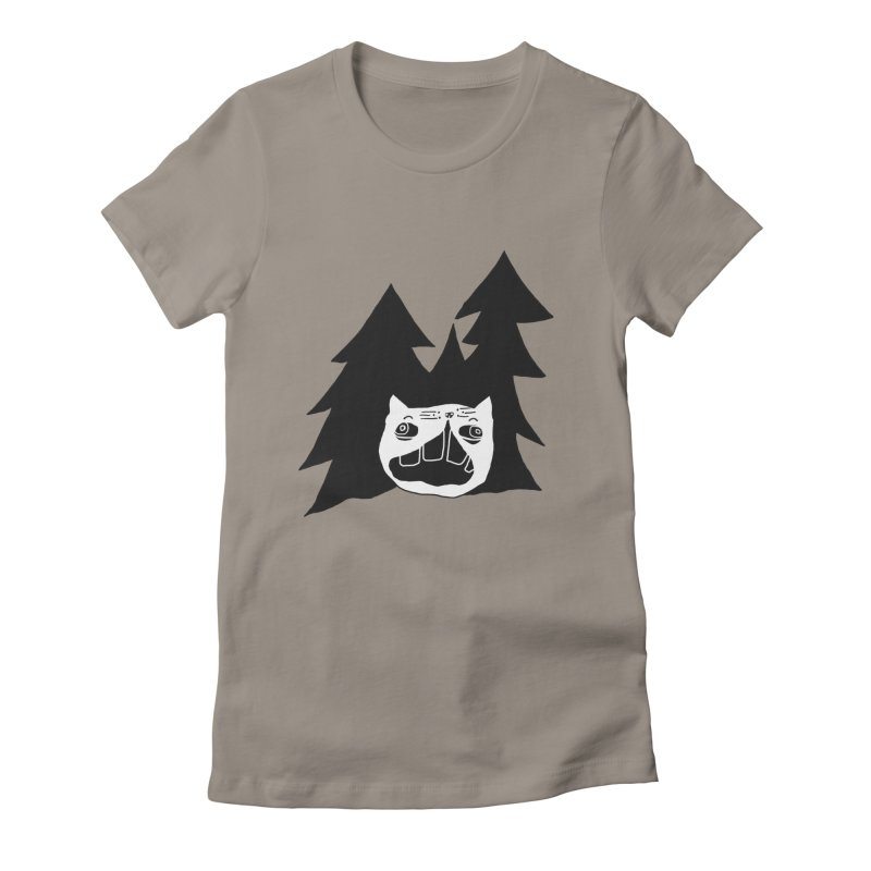 Evermeow Women's Fitted T-Shirt by CATCARYEG