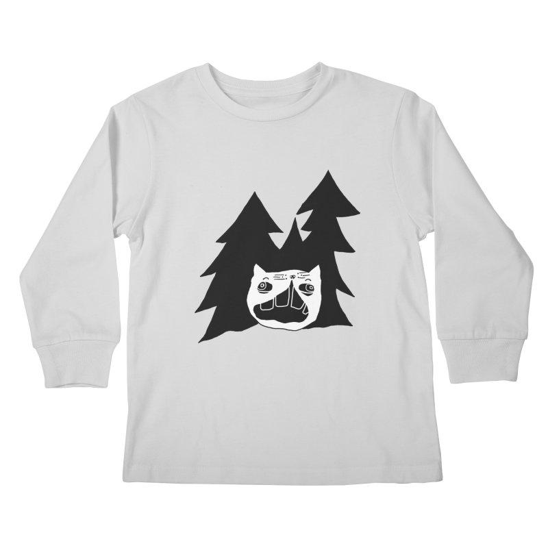 Evermeow Kids Longsleeve T-Shirt by CATCARYEG