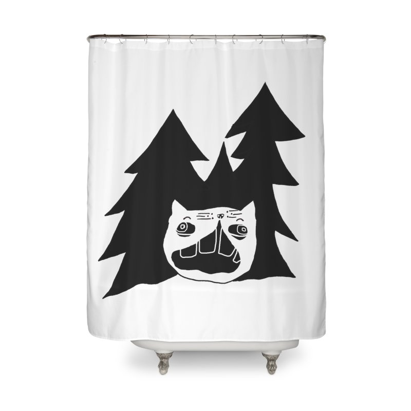 Evermeow Home Shower Curtain by CATCARYEG
