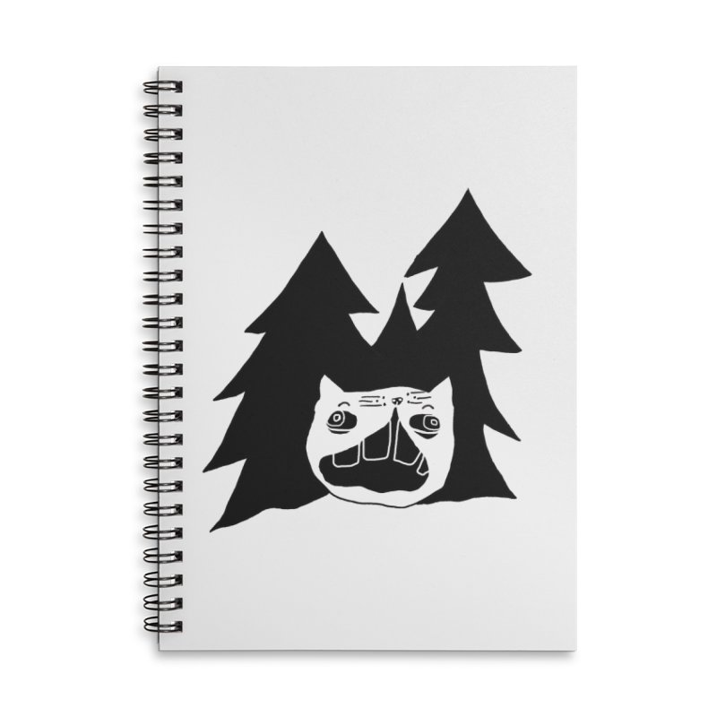 Evermeow Accessories Lined Spiral Notebook by CATCARYEG