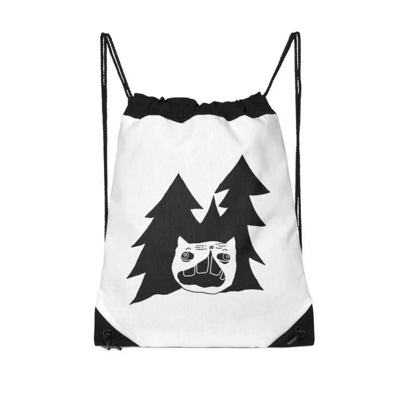 Evermeow Accessories Drawstring Bag Bag by CATCARYEG