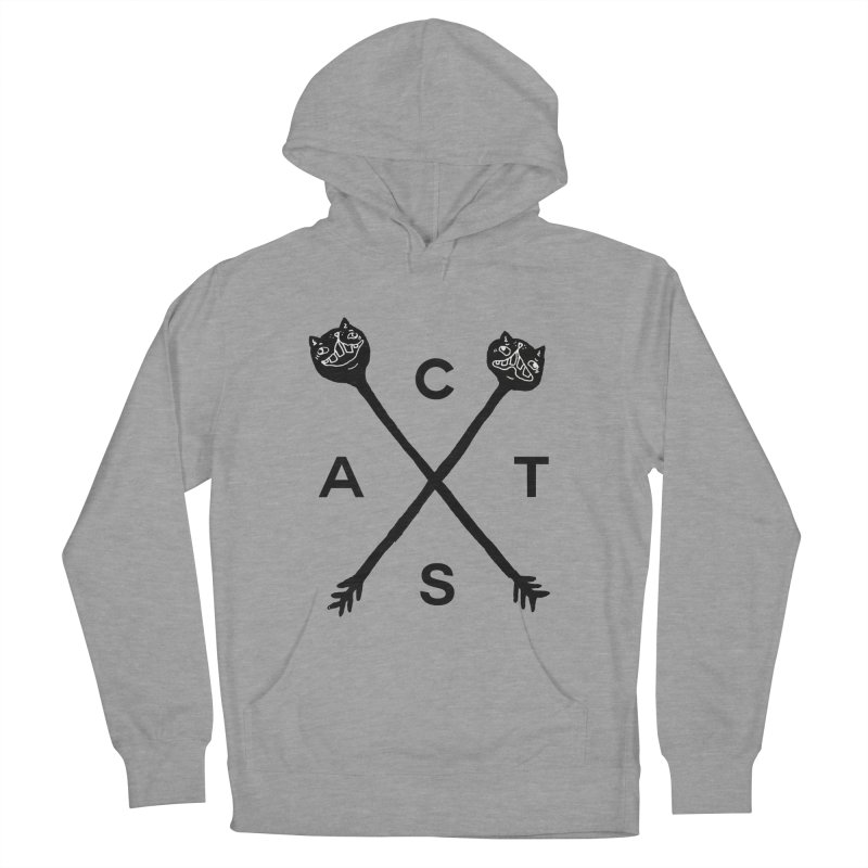 Cats? Cast? Men's French Terry Pullover Hoody by CATCARYEG