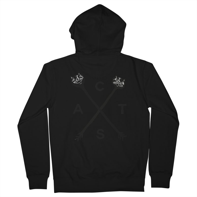 Cats? Cast? Women's French Terry Zip-Up Hoody by CATCARYEG