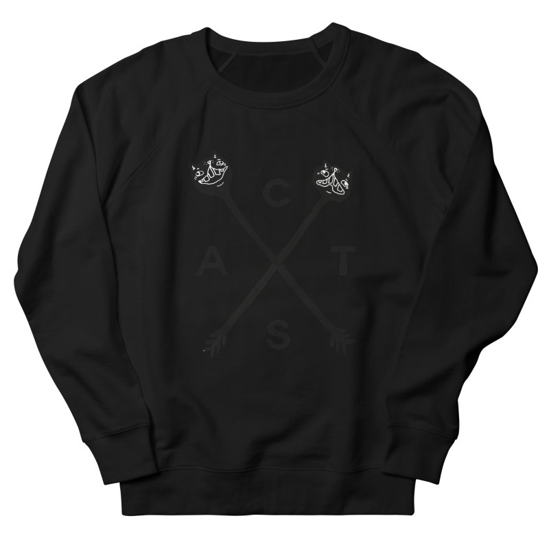 Cats? Cast? Men's French Terry Sweatshirt by CATCARYEG